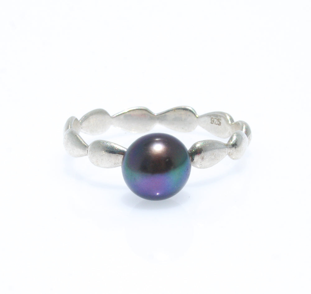 HARMONY BLACK PEARL RING