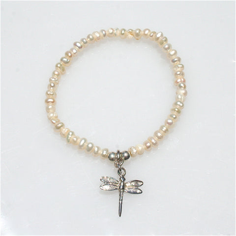 PEARL CROSS STERLING SILVER PENDANT