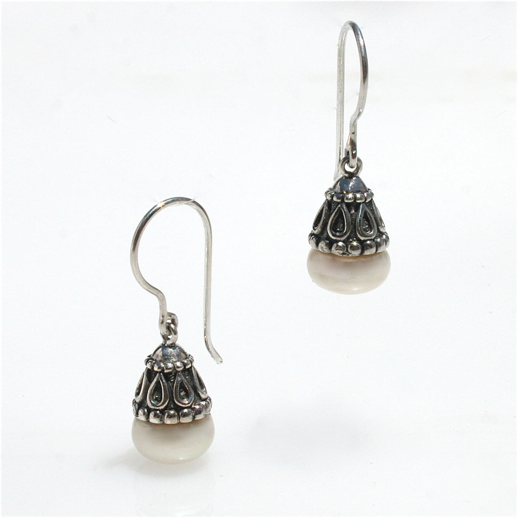 BOHO PEARL EARRINGS SMALL