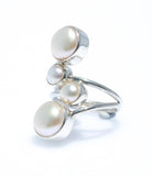 KIMBERLEY MOONS PEARL RING