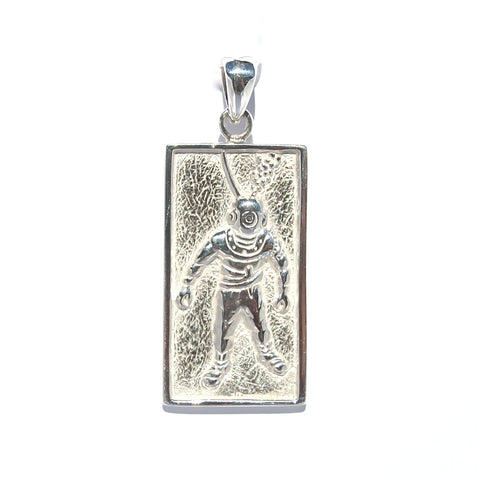 BOAB TREE STERLING SILVER PENDANT