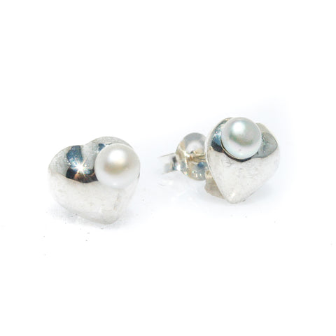 DRAGONFLY PEARL STUD EARRINGS