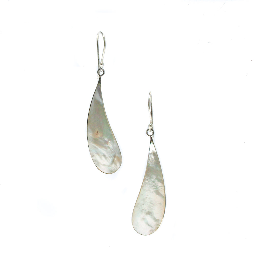 SLICE OF HEAVEN MOTHER OF PEARL EARRINGS