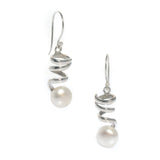 pearl staircase to the moon earrings