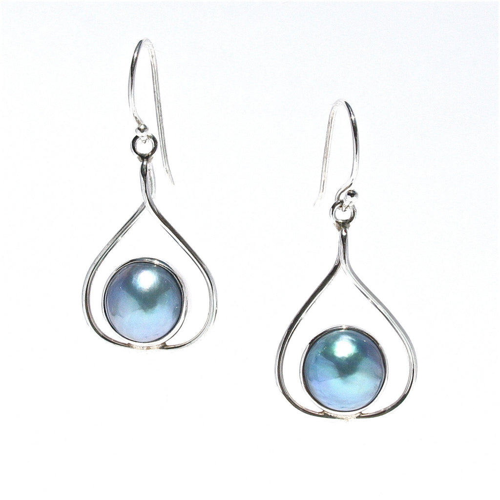 mabe pearl earrings broome blue