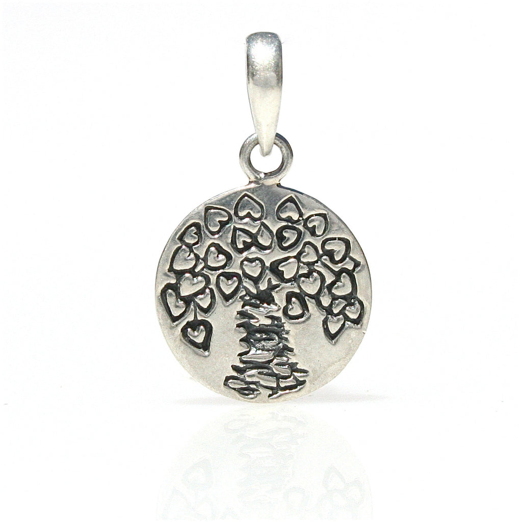 LOVE BOAB TREE PENDANT STERLING SILVER