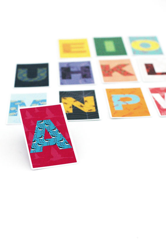 THREE PIKO | Pi'apa - Hawaiian Alphabet Cards - ALL SALES FINAL