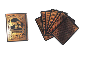 Diamond Head Playing Cards | Rose Gold - ALL SALES FINAL