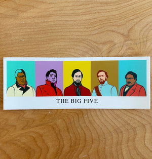 Sticker | Big 5 - ALL SALES FINAL