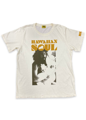 Hawaiian Soul Movie Tee - Off white