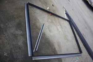 Agle Iron Window Frame