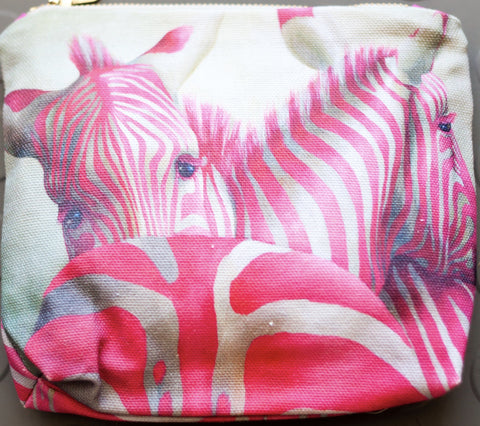 Make up bag - Zebra