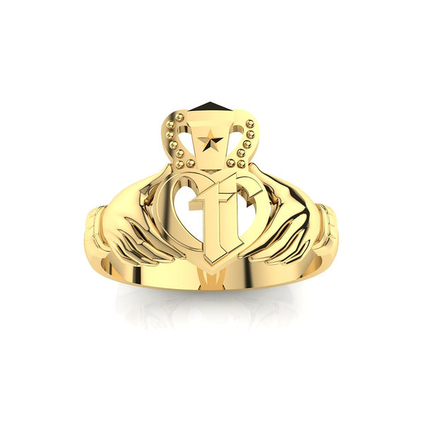 CTR Gents Irish Claddagh, 14K #173