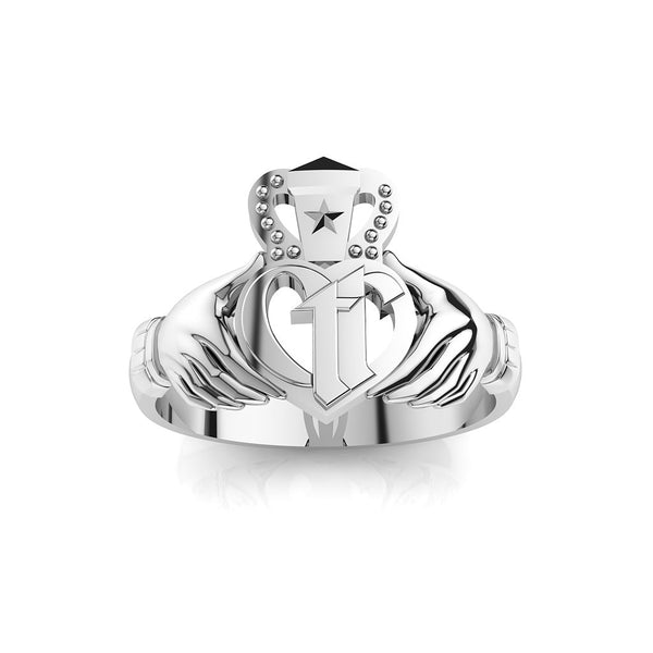 CTR Gents Irish Claddagh, Silver #173