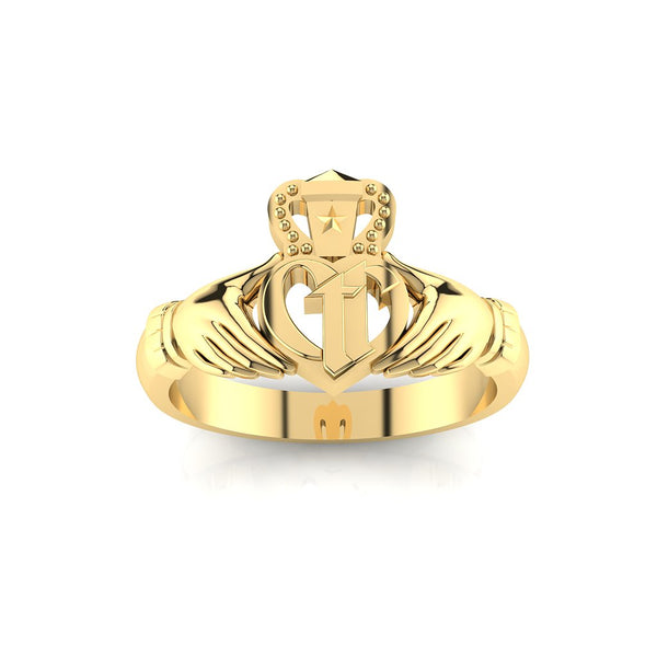 CTR Ladies Irish Claddagh, 14K #183