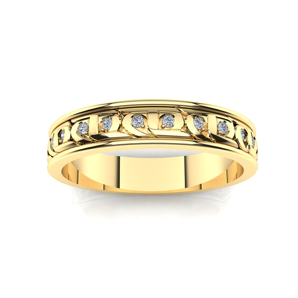 CTR Ladies Diamond Wedding Rings, 14K #253