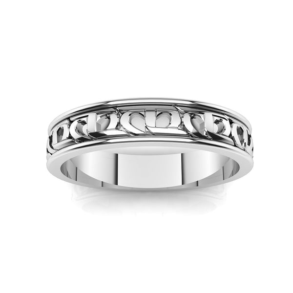 CTR Ladies Wedding Ring, Silver #283