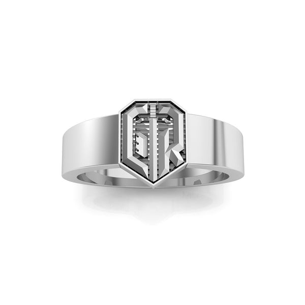 CTR Large Laban's Sword Ring, Silver #603