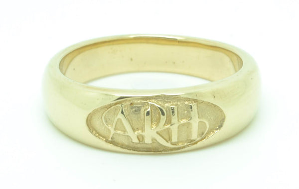 """Always Remember Him"" ARH Ring, 14K Gold, #713"