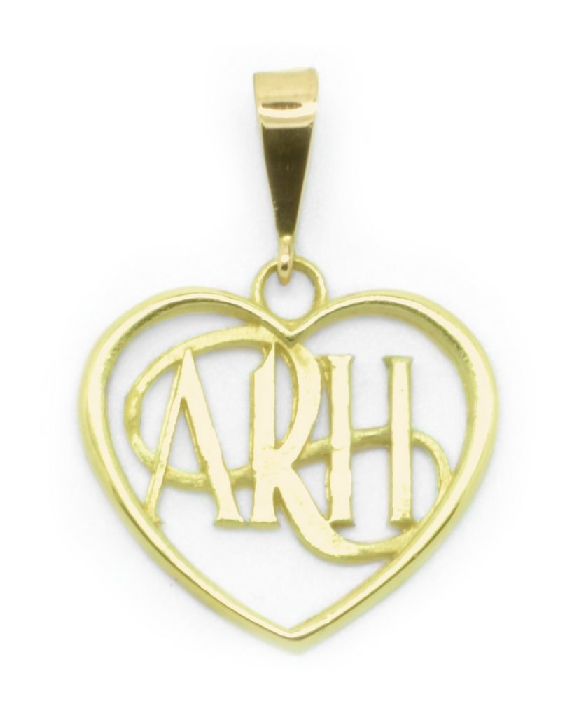 """Always Remember Him"" ARH Heart Necklace"