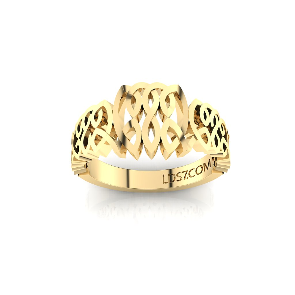 CTR Celtic Graduated Ring, 14K #513