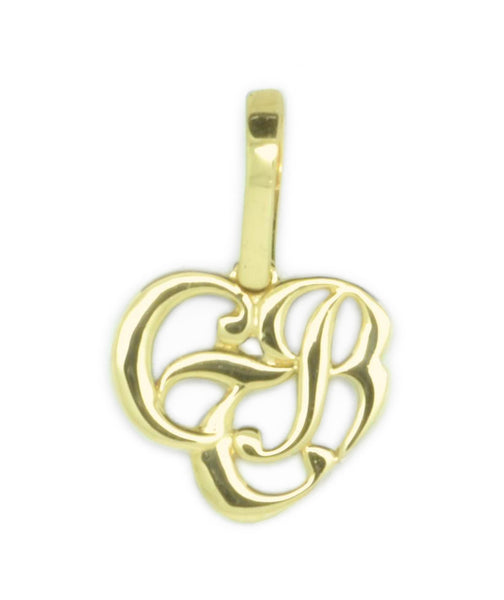 CTR Heart Necklace, Plain. 14K #114