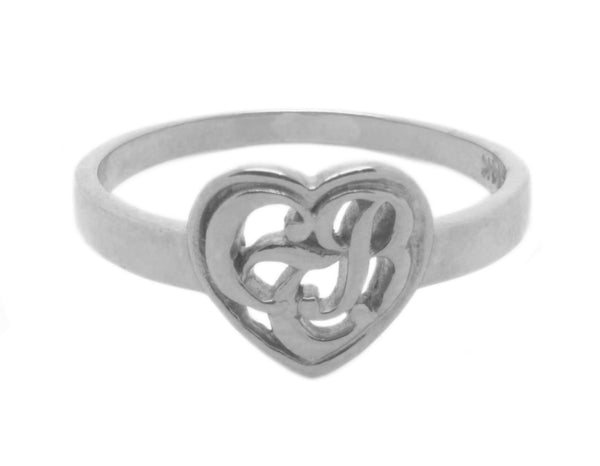 CTR Heart Ring, Silver #123