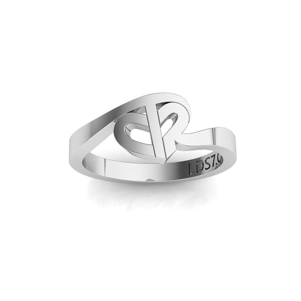 CTR Turning Heart Ring, Silver #683