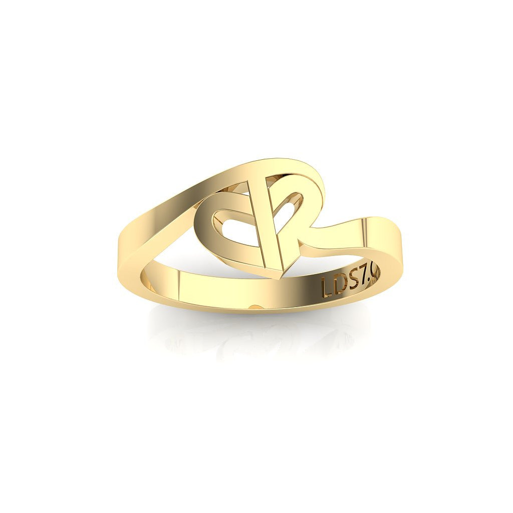CTR Turning Heart Ring 68341