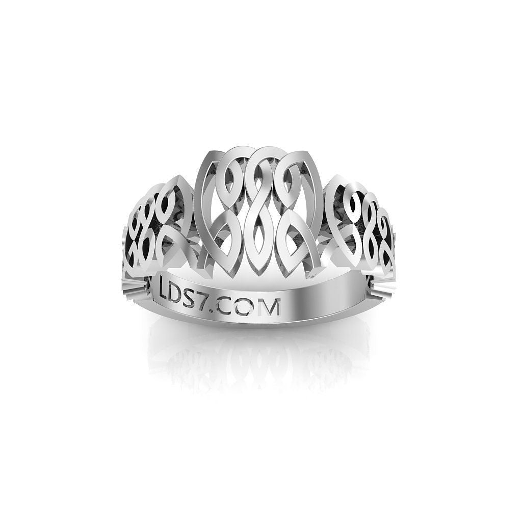 CTR Celtic Graduated Ring, Silver #513