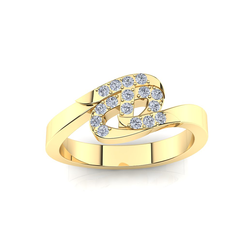 CTR Divine Ring, Diamond-set 56341