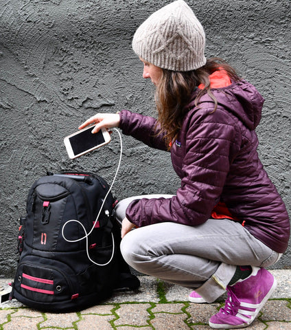 ULAK Tech 17 Backpack is Perfect for a long weekend!