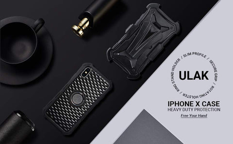 Black Swivel iPhone Xs Case