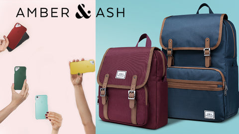 Amber & Ash Cases, Totes and Backpacks
