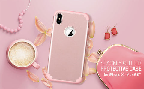 Rose Gold iPhone XS Max Case for Valentine's Day
