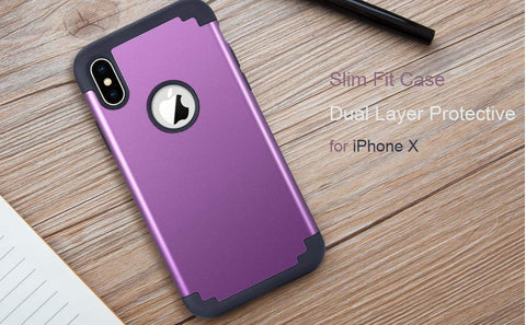 Purple iPhone Xs Case