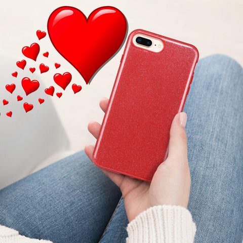 Red Sparkle iPhone 7/8 Plus Case
