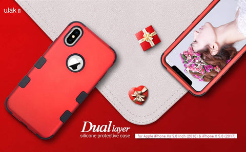 Holiday Red iPhone X Case
