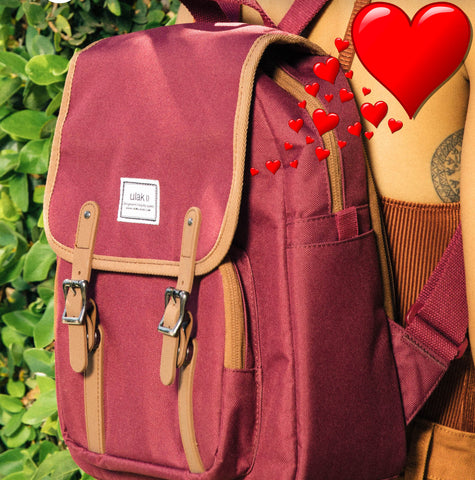 Red Mini Backpack for Valentine's Day!