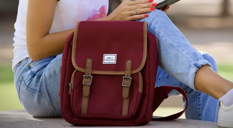 Red Mini Backpack for Valentine's Day