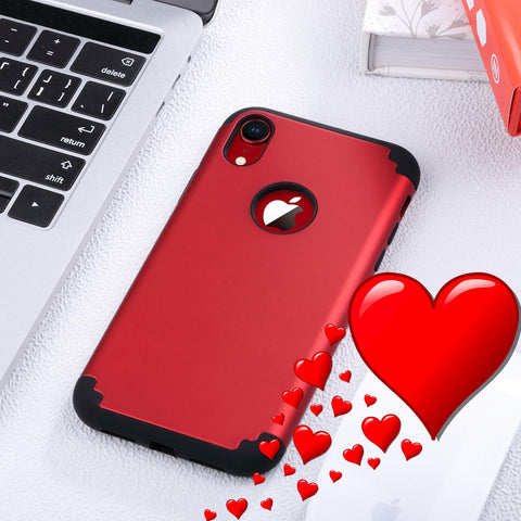 Rugged Red iPhone XR Case for Valentine's Day!