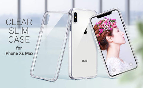 Xs Max Crystal Clear Case enhances the design of your iPhone