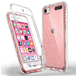 S-series Bling Sparkle Clear Case for iPod Touch 5/6/7 - Ulakcases