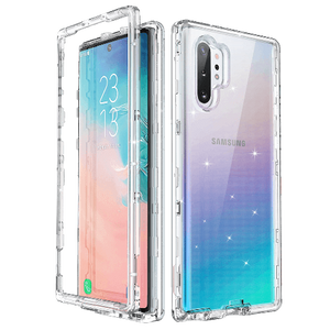 Bling Sparkle Clear Case for Galaxy Note 10 Plus 5G - Ulakcases