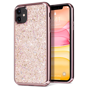 Glitter Case with Hybrid Bumper for iPhone 11 - Ulakcases