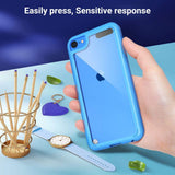 T-Series Dual Layer Style Case for iPod Touch 5/6/7 (with 2 Screen Protectors) - Ulakcases