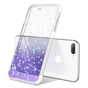 Glitter Case for iPhone 7 Plus /8 Plus 5.5 inch, not fit other iPhones. glitters don't fade or flake off. Reinforced bumper corners provide drop protection, raised bezels keep screen and camera scratchproof Precise cutouts and responsive buttons allow easy access to all functions, support wireless charging