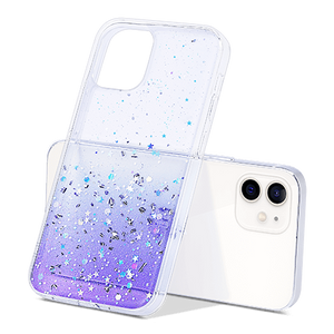 G-series Bling Clear Glitter Case for iPhone 12 Mini - Ulakcases