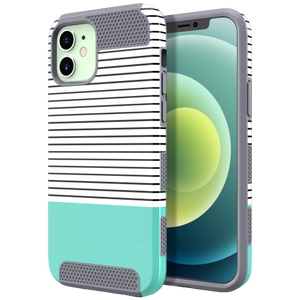 Dual Layer Grid Style Case for iPhone 12/12 Pro - Ulakcases