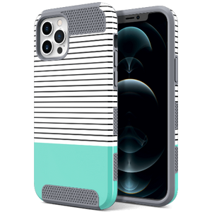 Dual Layer Grid Style Case for iPhone 12 Pro Max - Ulakcases